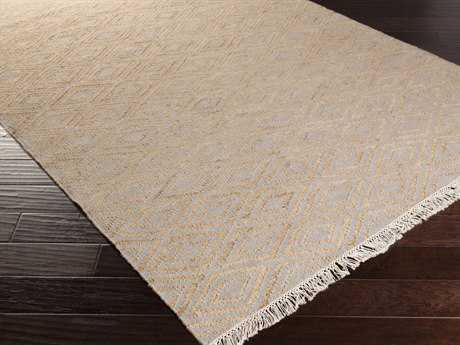 Surya Laural Rectangular Ivory & Gray Area Rug