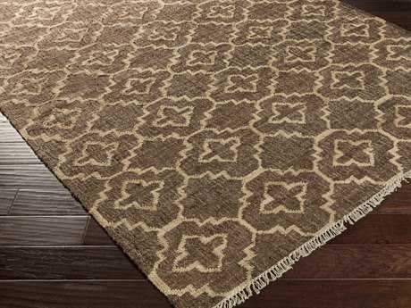 Surya Laural Rectangular Chocolate Area Rug