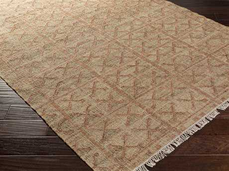 Surya Laural Rectangular Salmon Area Rug