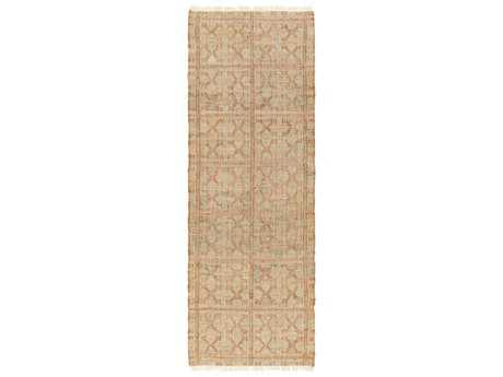 Surya Laural 2'6'' x 8' Rectangular Salmon Runner Rug