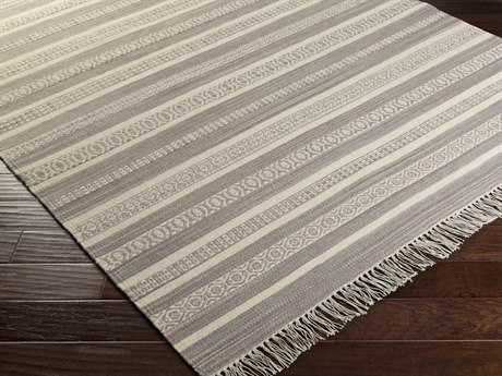 Surya Lawry Rectangular Light Gray Area Rug
