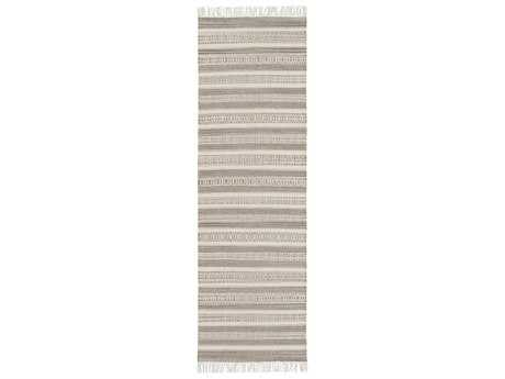 Surya Lawry 2'6'' x 8' Rectangular Light Gray Runner Rug