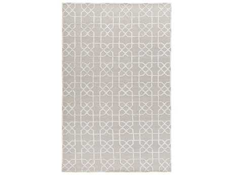 Surya Lydia Rectangular Gray Area Rug