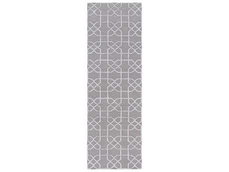 Surya Lydia 2'6'' x 8' Rectangular Gray Runner Rug