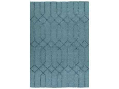 Surya Lydia Rectangular Teal Area Rug