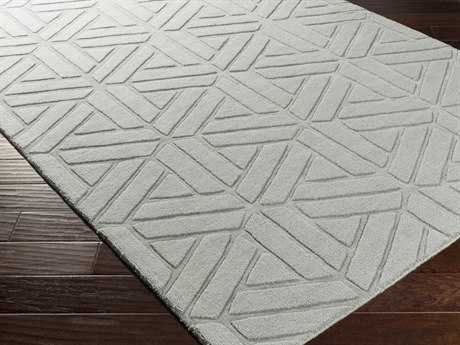 Surya Mystique Rectangular Gray Area Rug