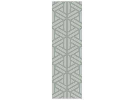 Surya Mystique 2'6'' x 8' Rectangular Gray Runner Rug