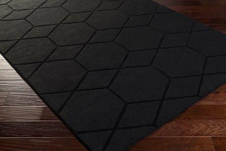 Surya Mystique Rectangular Charcoal Area Rug