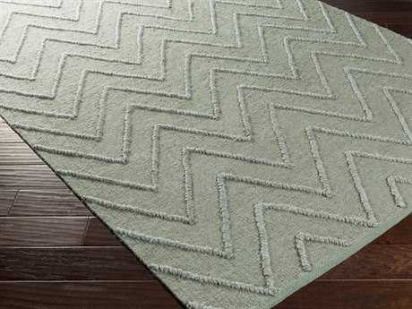 Surya Mateo Rectangular Sea Foam Area Rug