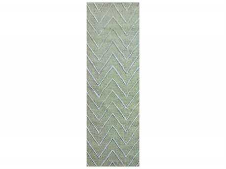 Surya Mateo 2'6'' x 8' Rectangular Sea Foam Runner Rug