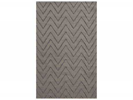 Surya Mateo Rectangular Gray Area Rug