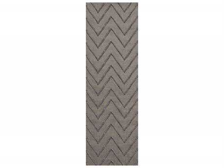 Surya Mateo 2'6'' x 8' Rectangular Gray Runner Rug