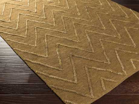 Surya Mateo Rectangular Gold Area Rug