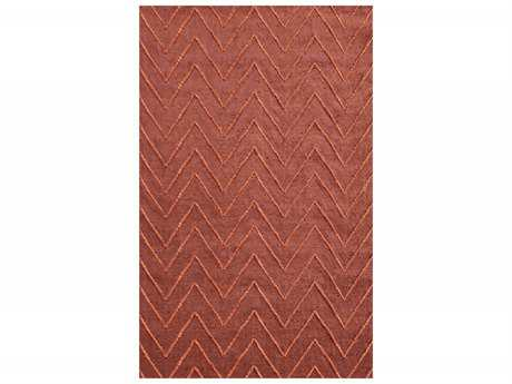 Surya Mateo Rectangular Rust Area Rug