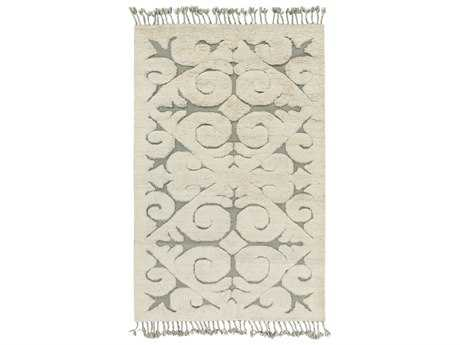 Surya Maori Rectangular Beige & Light Gray Area Rug