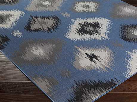 Surya Mavrick Rectangular Teal Area Rug