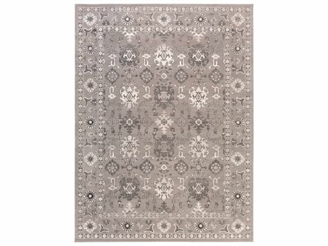 Surya Mavrick Rectangular Gray Area Rug