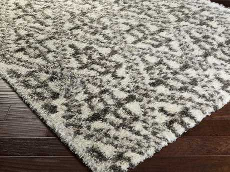 Surya Mercer Rectangular Charcoal Area Rug