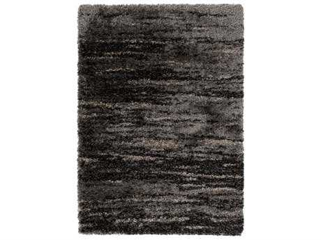 Surya Mercer Rectangular Charcoal Area Rug
