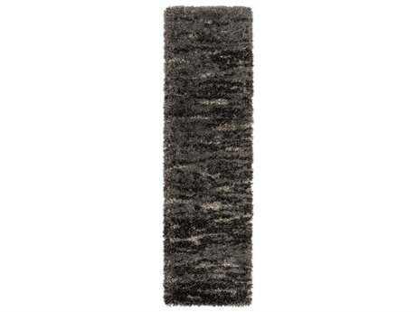 Surya Mercer 2'3'' x 7'8'' Rectangular Charcoal Runner Rug