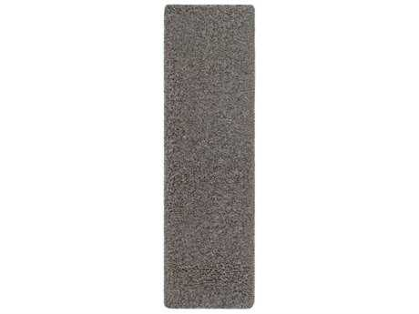 Surya Mercer 2'3'' x 7'8'' Rectangular Charcoal Runner Rug