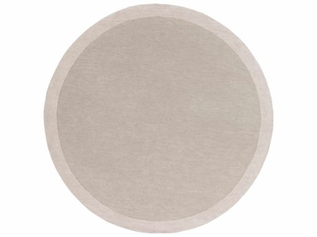 Surya Madison Square Round Light Gray & Ivory Area Rug SYMDS1001ROU