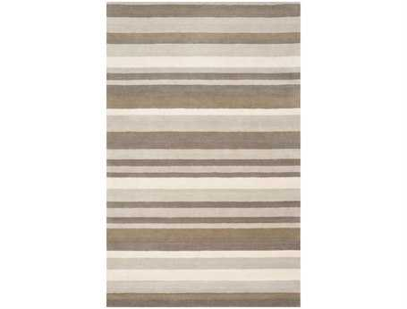 Surya Madison Square Rectangular Brown Area Rug