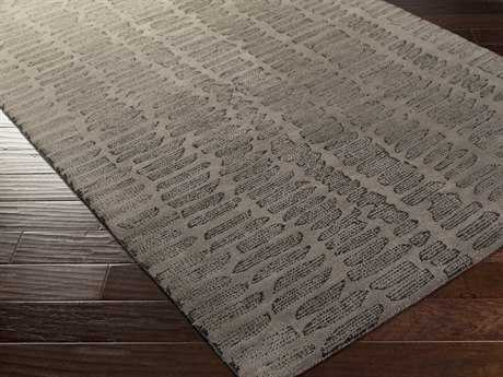 Surya Melody Rectangular Gray Area Rug