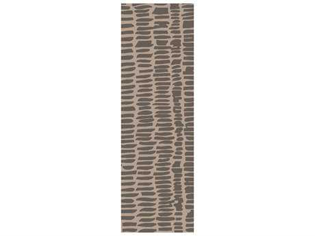 Surya Melody 2'6'' x 8' Rectangular Gray Runner Rug