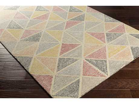 Surya Melody Rectangular Bright Orange, Saffron & Bright Yellow Area Rug