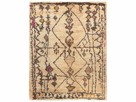 Surya Medina Rectangular Beige & Orange Area Rug SYMED1110REC