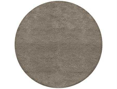 Surya Metropolitan 8' Round Gray Area Rug