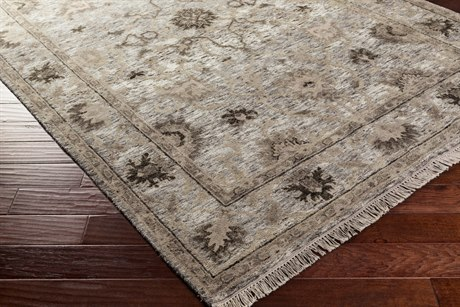 Surya Maeva Rectangular Tan, Black & Dark Brown Area Rug