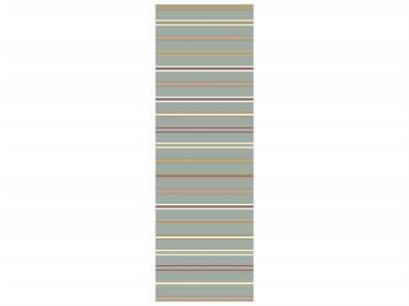 Surya Miguel 2'6'' x 8' Rectangular Light Gray Runner Rug