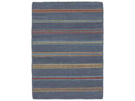 Surya Miguel Rectangular Navy Area Rug