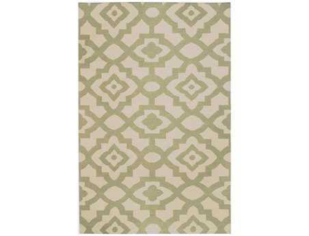 Surya Candice Olson Market Place Rectangular Green Area Rug