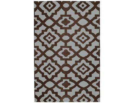 Surya Candice Olson Market Place Rectangular Brown Area Rug