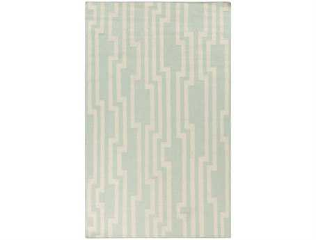 Surya Candice Olson Market Place Rectangular Teal Area Rug