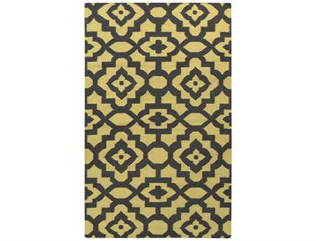 Surya Candice Olson Market Place Rectangular Yellow Area Rug