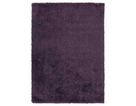 Surya Mellow Rectangular Purple Area Rug