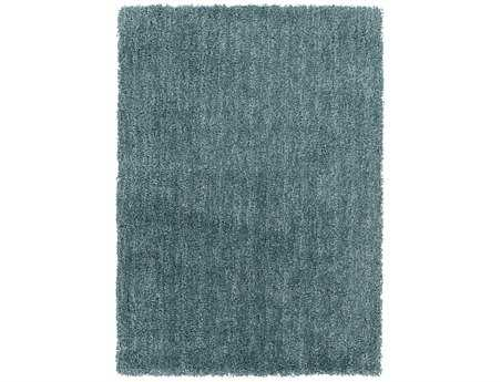 Surya Mellow Rectangular Blue Area Rug
