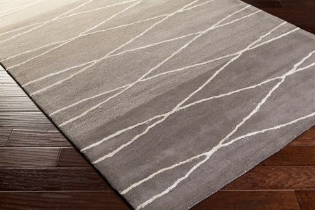 Surya Manor Rectangular Medium Gray, Khaki & Light Gray Area Rug