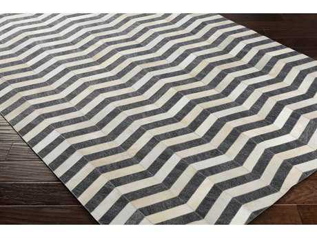Surya Medora Rectangular Cream & Medium Gray Area Rug
