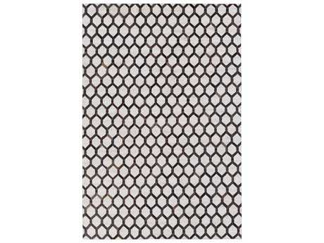 Surya Medora Rectangular Black, Dark Brown & Ivory Area Rug