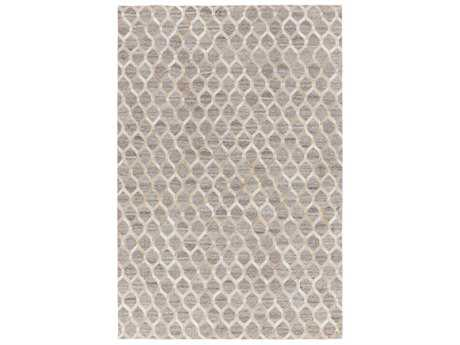 Surya Medora Rectangular Wheat, Taupe & White Area Rug