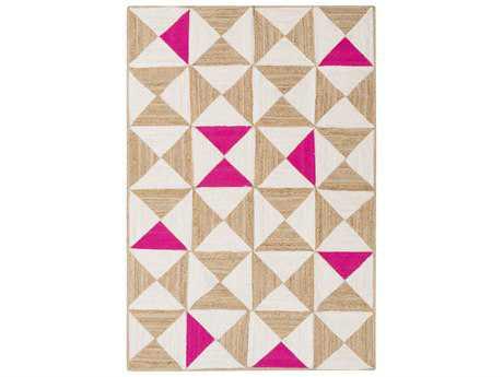 Surya Molino Rectangular Hot Pink Area Rug