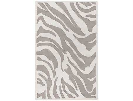 Surya Mosaic Rectangular White Area Rug