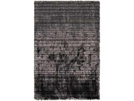 Surya Merlot Rectangular Black Area Rug