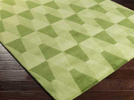 Surya Mod Pop Rectangular Lime Area Rug