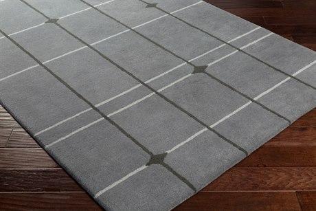 Surya MOD POP Rectangular Medium Gray, Light Gray & Charcoal Area Rug